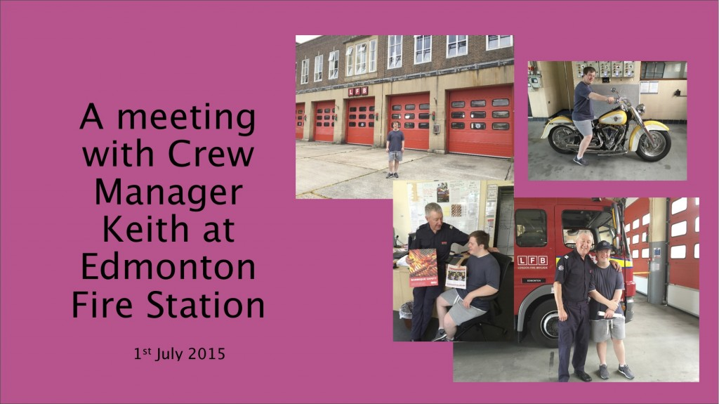 A meeting with Crew Manager Keith at Edmonton