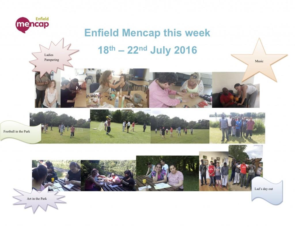 enfield mencap 18th July