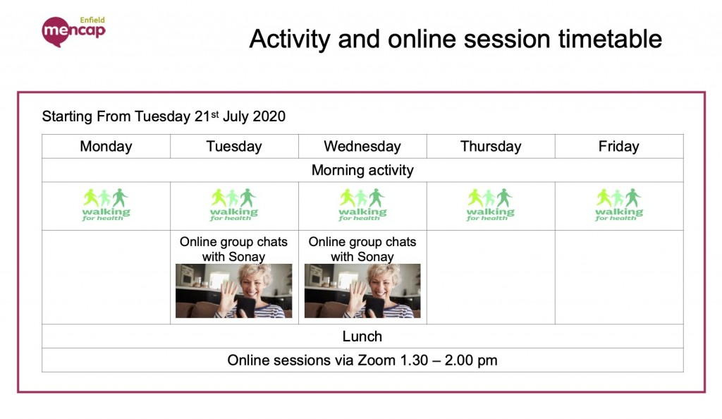 online sessions Covid-19